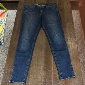 AG Ankle Zip Jeans